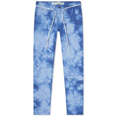 """END. x Off-White """"CHEMICAL WASH"""" Jean"""