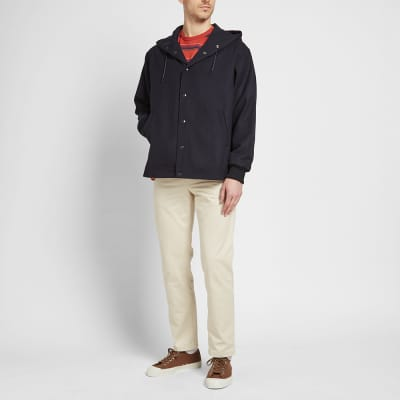 Arpenteur Flannel Hooded Solo Twill Parka