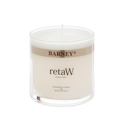 retaW Glass Fragrance Candle