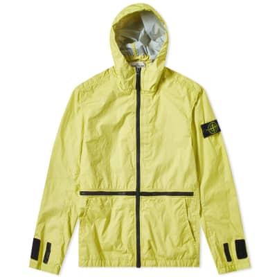 9c1e1bc5c474e Stone Island Membrana 3L TC Zip Hooded Shell Jacket ...