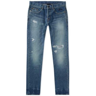 Saint Laurent Slim Trash Jean