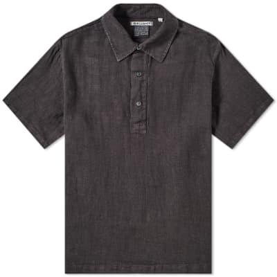 56d7872ecf Our Legacy Linen Pique Popover Shirt ...