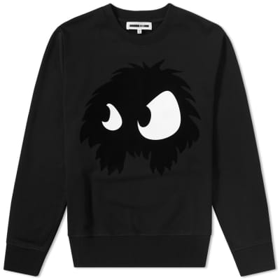 McQ by Alexander McQueen Large Monster Crew Sweat