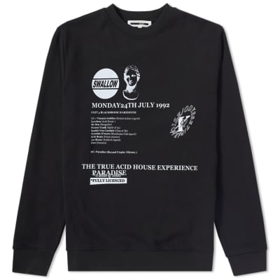 McQ by Alexander McQueen Clean Print Crew Sweat