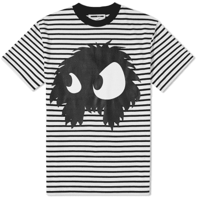 McQ by Alexander McQueen Large Monster Stripe Tee