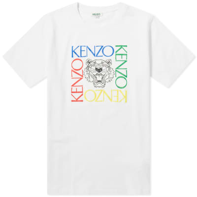 4d0318193b Kenzo Tiger Face Tee - END.