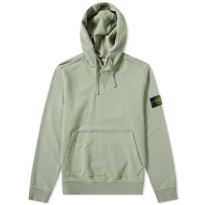 47ad9d4c37 Stone Island Garment Dyed Popover Hoody ...