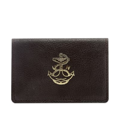 The Real McCoy's Goatskin Card Holder