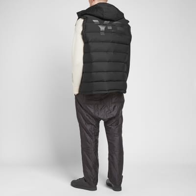 Y-3 Seamless Hooded Down Vest