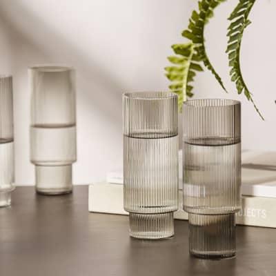 Ferm Living Ripple Long Drink Glass - Set of 4