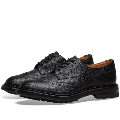 Tricker's Commando Sole Ilkley Derby Brogue