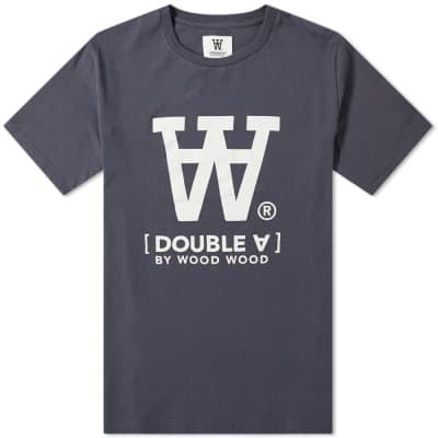 Wood Wood Ace Logo Tee