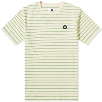 Wood Wood Ace Stripe Tee