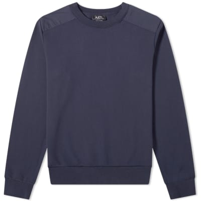 A.P.C. Shoulders Crew Sweat