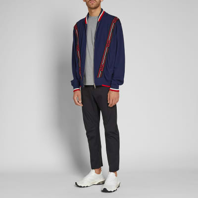Givenchy Taping Knitted Bomber