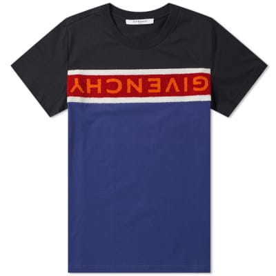 Givenchy Towelling Logo Tee