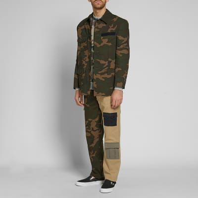 Gosha Rubchinskiy Ripstop Camo M-65 Jacket