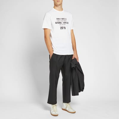Neil Barrett Collection Date Tee