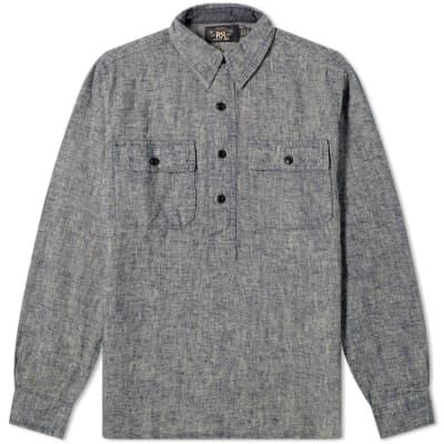 RRL Popover Chambray Shirt