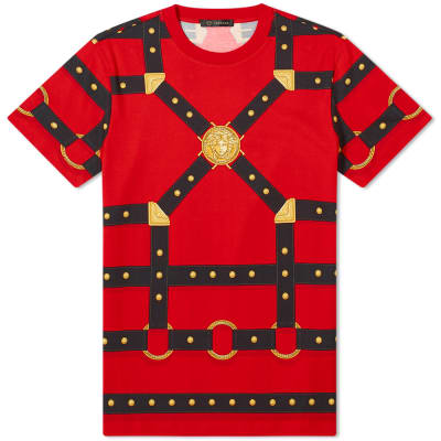 Versace Harness All Over Print Tee