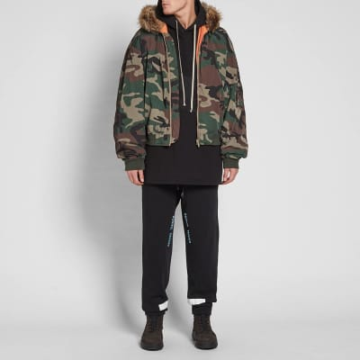Yeezy Season 5 Hooded Bomber Jacket