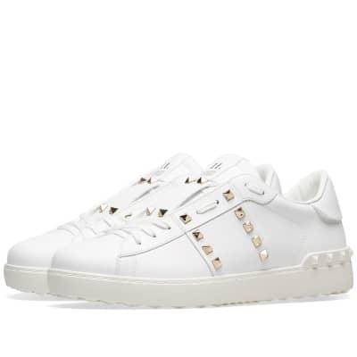 1691adaa84af Valentino Rockstud Untitled Sneaker ...