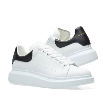 Alexander McQueen Wedge Sole Low Sneaker