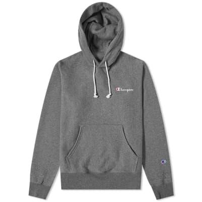 Champion Reverse Weave Small Script Logo Hoody