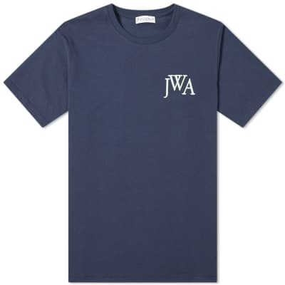 JW Anderson Logo Embroidered Tee