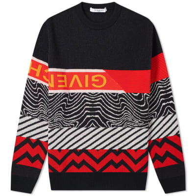 Givenchy Multi Crew Knit