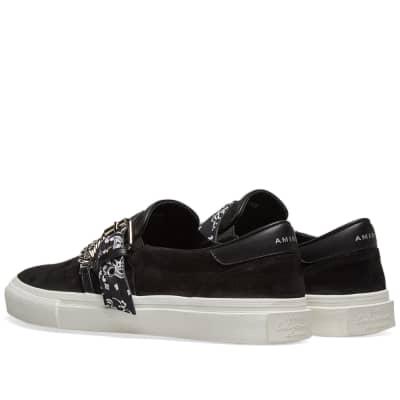 0332e8c27d5fba ... AMIRI Slip On Bandana Suede Sneaker