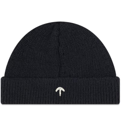 usa nigel cabourn embroidered broad arrow beanie 62edf 8624f 66fce451042