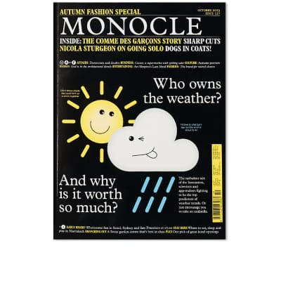 Monocle: Autumn Fashion Special. Issue 127, October 19
