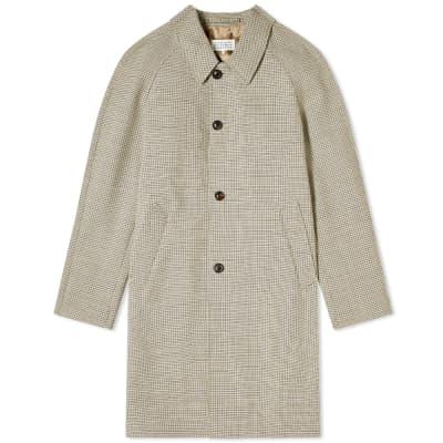 Maison Margiela 14 Wool Check Coat
