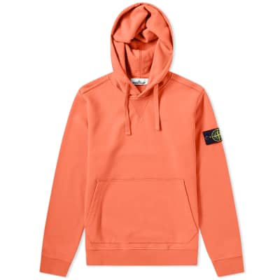 d076e805d706 Stone Island Garment Dyed Popover Hoody ...