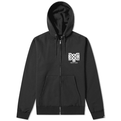 fd07f5d8f716f6 Bounty Hunter Heavyweight Logo Zip Hoody ...