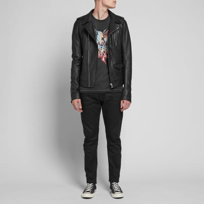 Rick Owens Stooges Leather Jacket