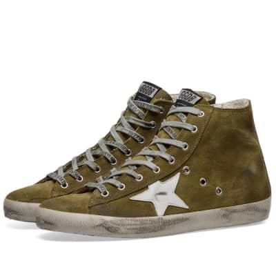 Golden Goose Francy Suede Hi Sneaker