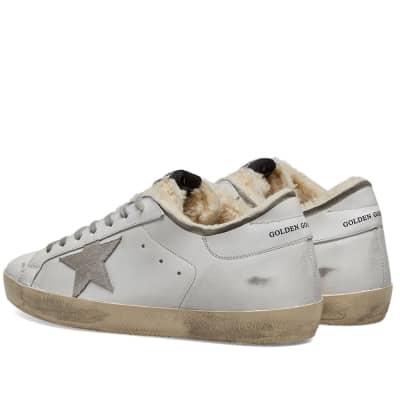 Golden Goose Superstar Shearling Sneaker