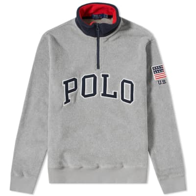 660c35c842f9 Polo Ralph Lauren Half Zip Polar Fleece ...