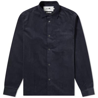 NN07 Basso Cord Overshirt Jacket