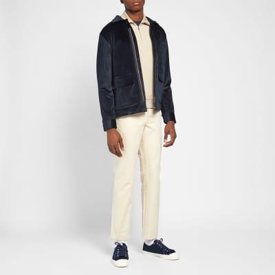 NN07 Verne Velvet Overshirt Jacket