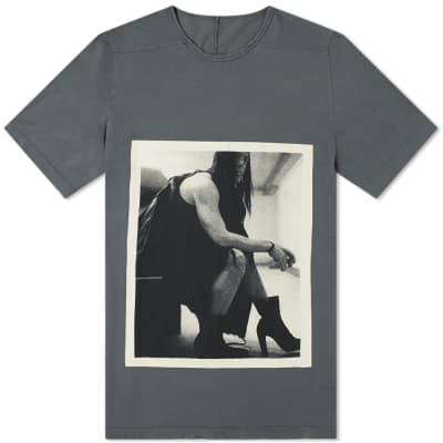 Rick Owens DRKSHDW Rick Photo Print Level Tee