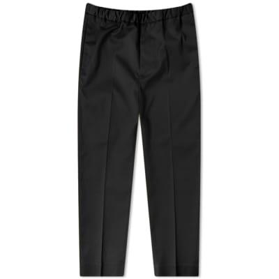 Jil Sander Cotton Cropped Trouser