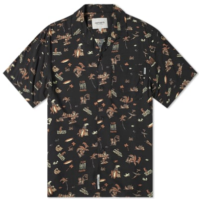 b561d566c01a Carhartt Short Sleeve Club Pacific Shirt ...