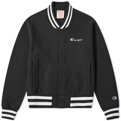 1c45ca51e Champion Reverse Weave Small Script Logo Coach Jacket ...