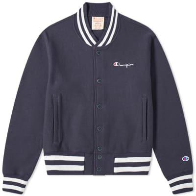 8a513aeb674 Champion Reverse Weave Small Script Logo Coach Jacket ...