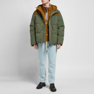 Acne Studios Orfeo Canvas Down Jacket