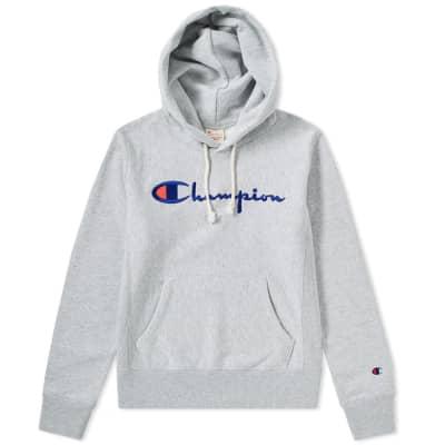 Champion Reverse Weave Women's Logo Script Hoody