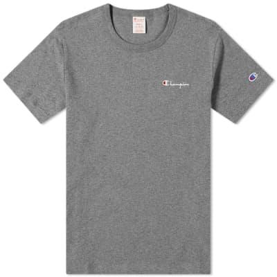 Champion Reverse Weave Small Script Logo Tee